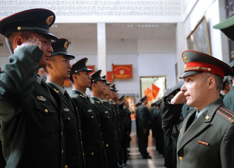 China Is Celebrating a Fantasy History of World War II in Russia