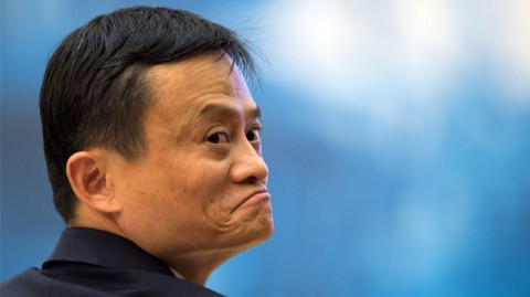 Alibaba's chairman Jack Ma, on Nov. 19, 2014, at the opening ceremony of the World Internet Conference in Wuzhen, Zhejiang province, China. Jack Ma's company Alibaba lost $20 billion in market cap on Thursday after getting into a spat with a Chinese regulator, as the company's once helpful political ties begin to trip it up. (Fabrice Coffrini/AFP/Getty Images)