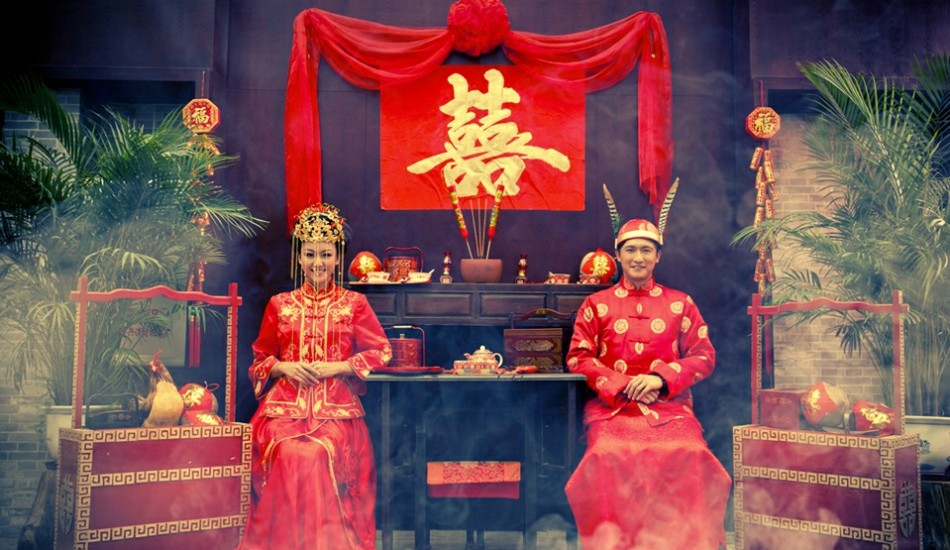 Different wedding traditions in china