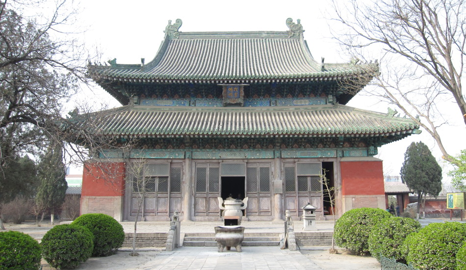 Longxing Temple, where Zhang Liwei hid for 16 years. (Image: Wikimedia Commons/CC-BY-SA-2.5)