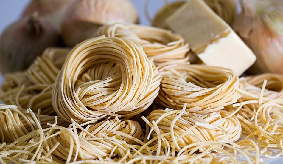 It is believed that the Italians invented spaghetti after seeing Chinese noodles; when they saw Chinese ice cream, they developed their own style of that too. (Image: stevepb via Pixabay/CC0 1.0)