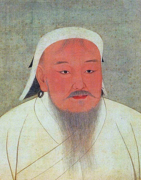 Taizu, better known as Genghis Khan. (Image: wikimedia / CC0 1.0)