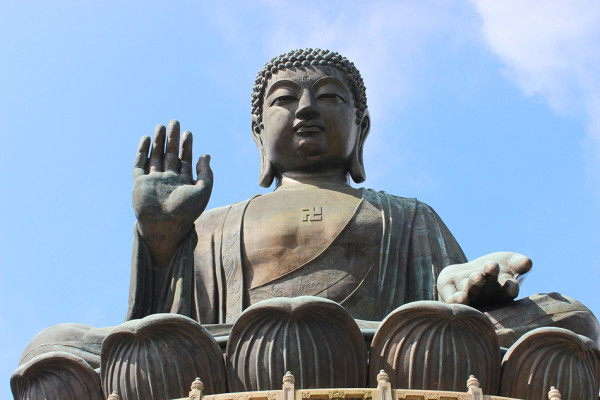 The Tian Tan Buddha, also known as the Big Buddha, located at Lantau Island, Hong Kong. (Image: Henry_Wang via Pixabay/ CC0 1.0)