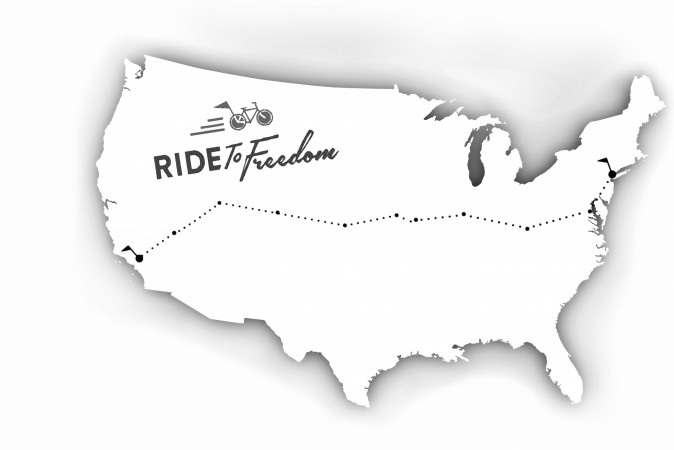 The 3,000-mile Ride 2 Freedom route will take cyclists to 19 cities, where they will rally to end the persecution of Falun Gong in China and rescue five orphaned children. (Mark Ross/Epoch TImes, iStock)