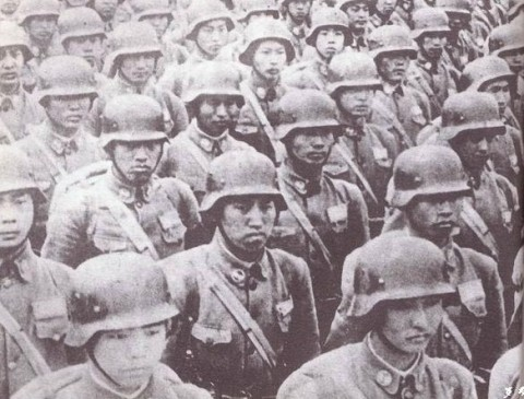Elite troops of the Chinese Nationalist forces in World War II (Wikipedia Commons)