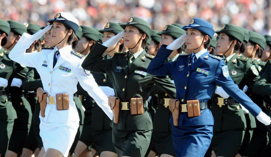"""Analysts are saying that the Chinese leadership considers this military parade as a golden opportunity to uplift the national spirit and showcase its military equipment. "" (Image: game.china.com)"