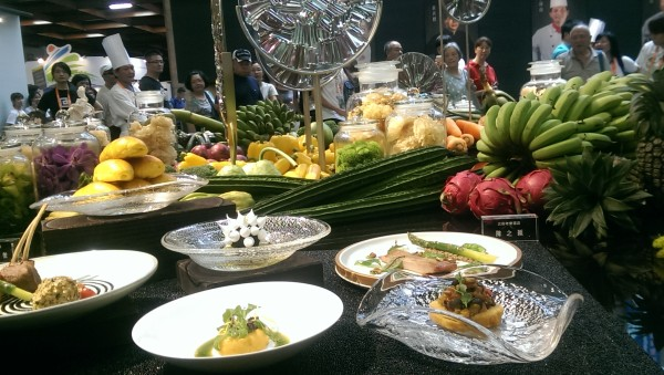 Some of dishes demonstrated by Taiwanese chefs (Image: Billy Shyu/ Vision Times)