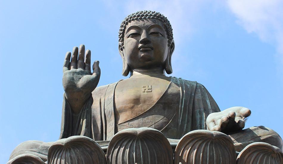 The Tian Tan Buddha, also known as the Big Buddha, located at Lantau Island, Hong Kong. (Image:  Henry_Wang via   Pixabay/ CC0 1.0)