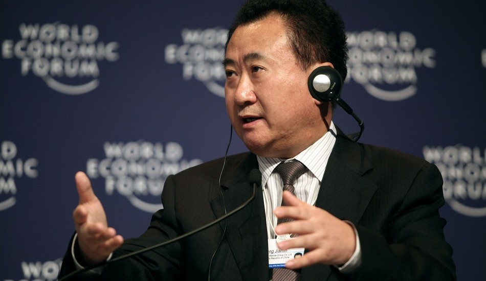 A 2009 file image of Wang Jianlin, whose company, the Dalian Wanda Group, spent over $4 billion on Hollywood assets this year. (Image: Wikipedia Commons)